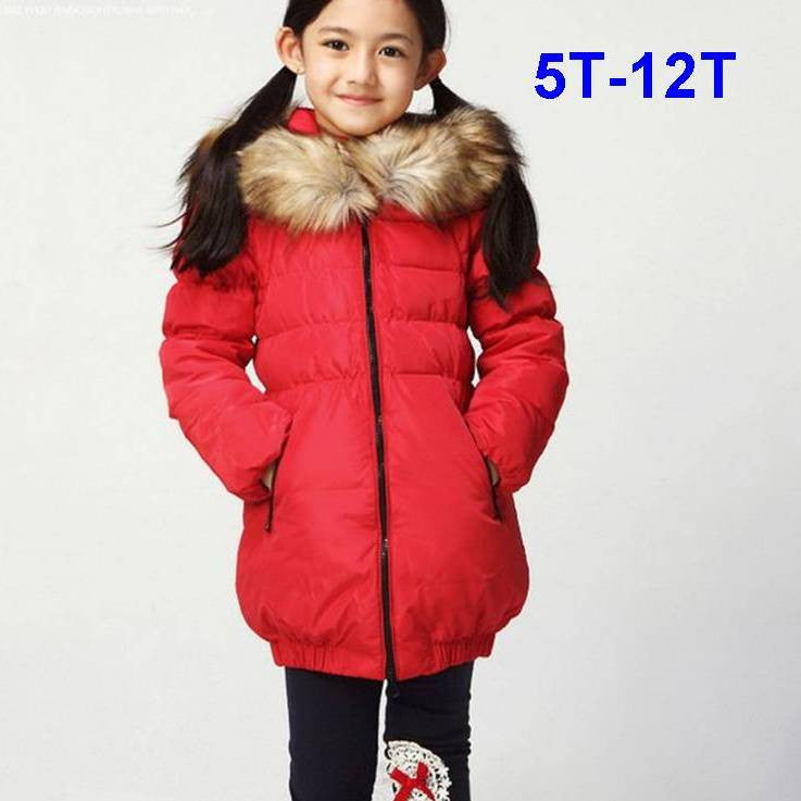 Luxury Fur Collar 80% Down Coat 1004B