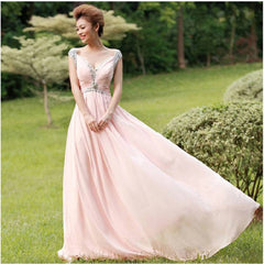 Jewel Tank Floor Length Dress 8003 - 365boxingdays - 1
