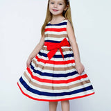 Summer Rainbow Dress 2-8T 1010 - 365boxingdays - 1