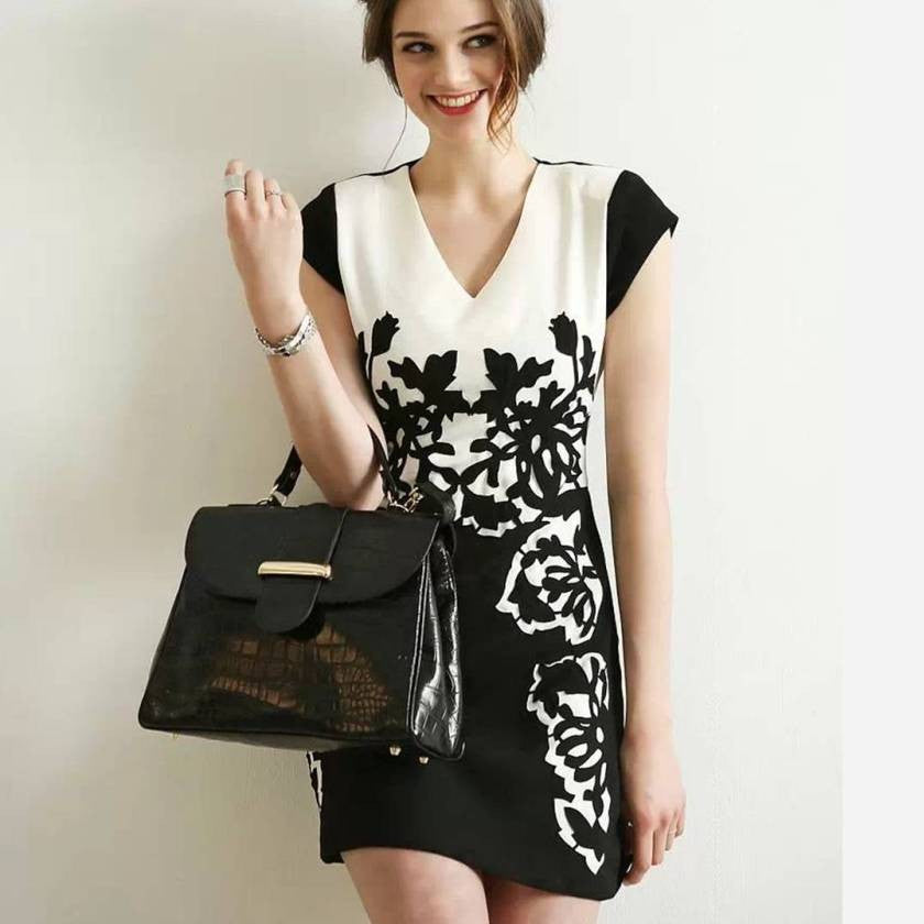 Fashion Elegant Short Dress S-3XL 2031