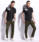 Men's Fashion Shirt 100% Cotton 3001 - 365boxingdays - 5