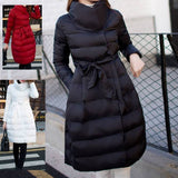 Maternity 90% Down Long Flare Dress Coat