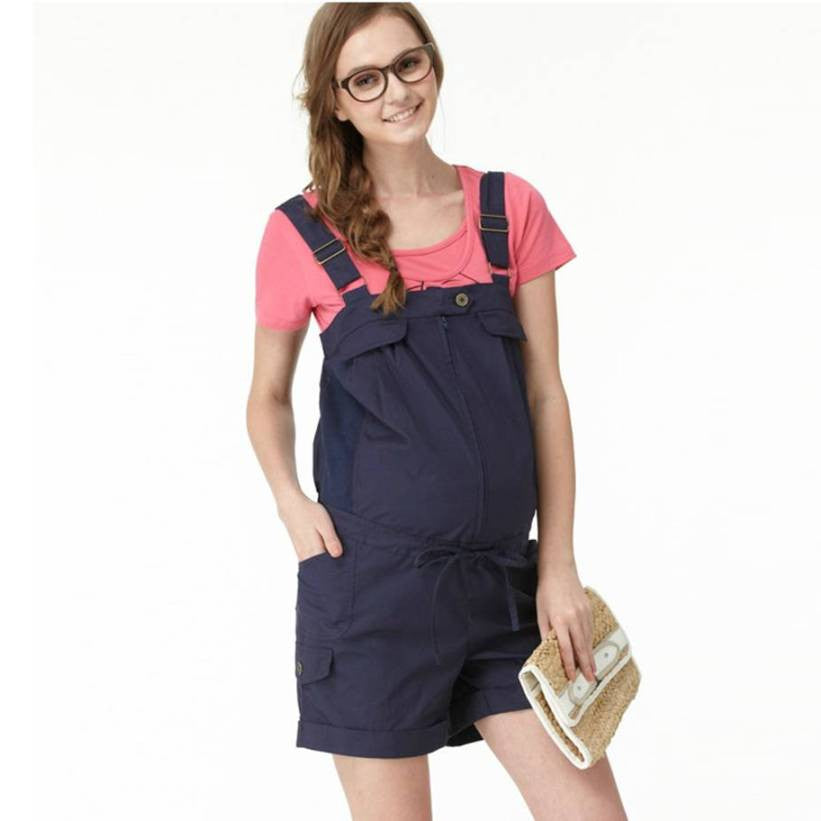 Maternity and Nursing Overall Shorts 5116 - 365boxingdays - 1
