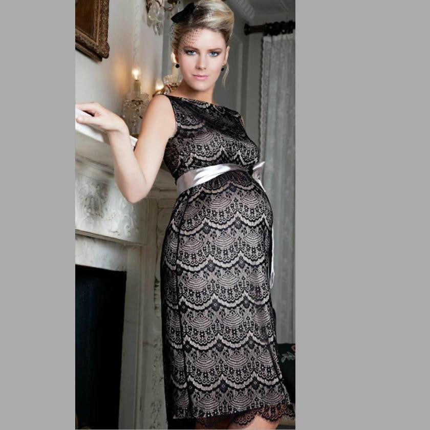 Extreme Lace Maternity Formal Dress 5095