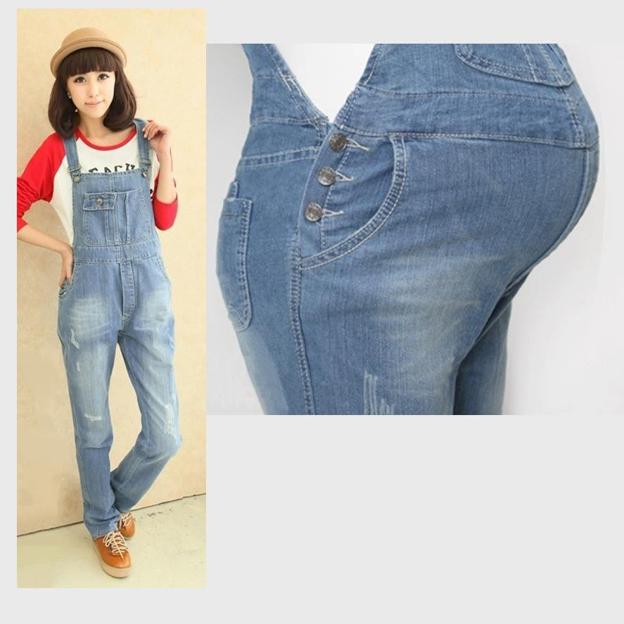 Maternity Jean Overall Worn-style 5088 - 365boxingdays - 1