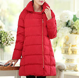 Maternity Winter Puff Hooded Coat 5036 - 365boxingdays - 5