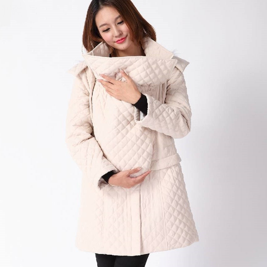 Baby Carrying Winter Coat Skirt 5139 - 365boxingdays - 1