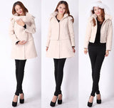 Baby Carrying Winter Coat Skirt 5139 - 365boxingdays - 3