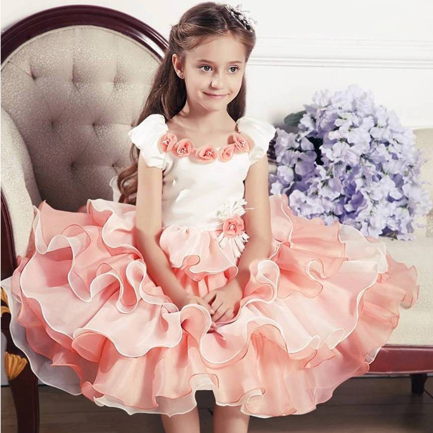 Scarlett CupCake Dress 2-8 Years 1018