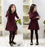 Polyester Cape Trench Coat 5-12T 1009 - 365boxingdays - 6