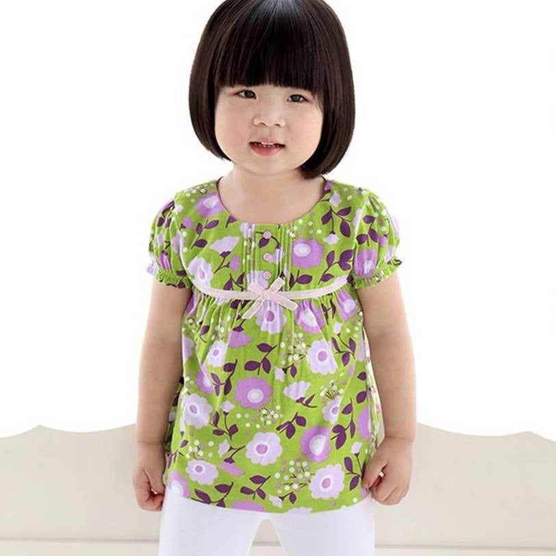Green Garden Summer Top 6-24m 9023