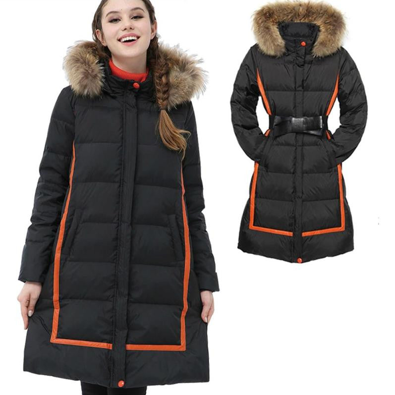 Zip Adjust Maternity & After 90% Down Coat