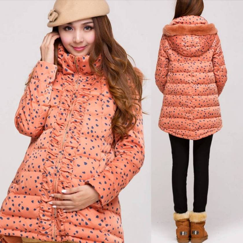 Maternity Fashion 90% Down Coat 5141