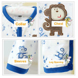 2 Infant Boy Sleepers 0-3m 9024-2p - 365boxingdays - 5