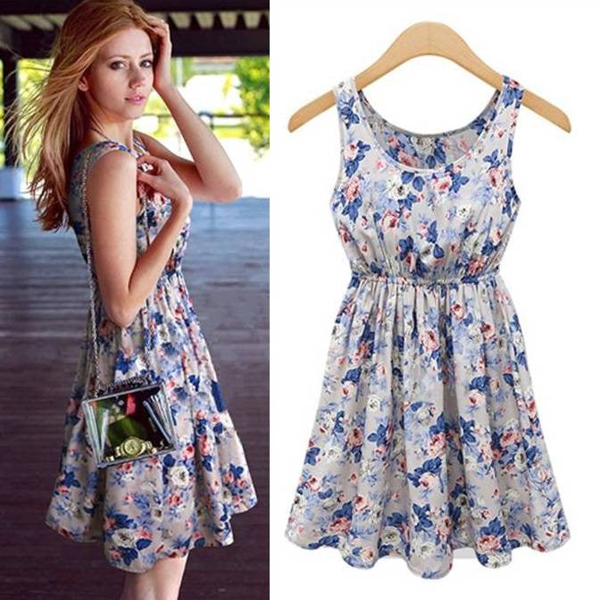 Sweetie Tank Short Summer Dress 1032