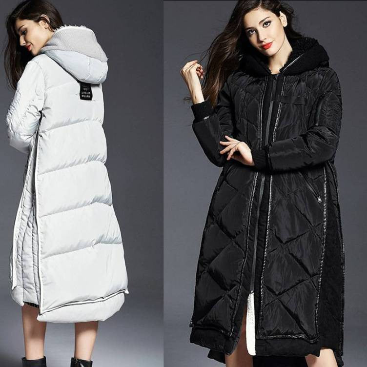 Super Long Down Coat Maternity/Plus Size