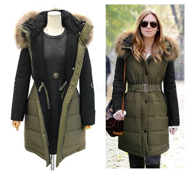 Women's Winter Long Hoody Coat 2052