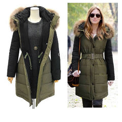 Women's Winter Long Hoody Coat 2052 - 365boxingdays
