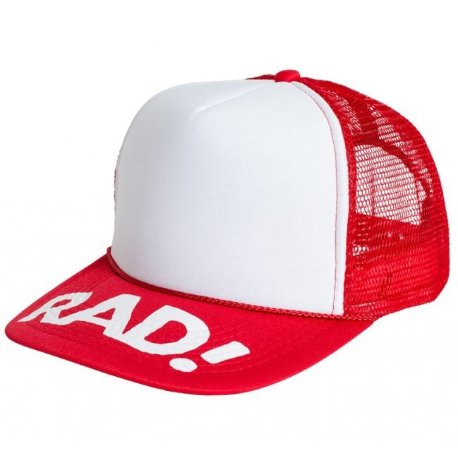 Subrosa Radical Rick RAD Trucker Cap Red/White