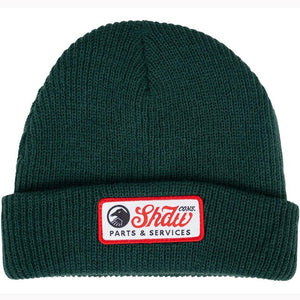 Shadow Mechanic Beanie - Dark Green