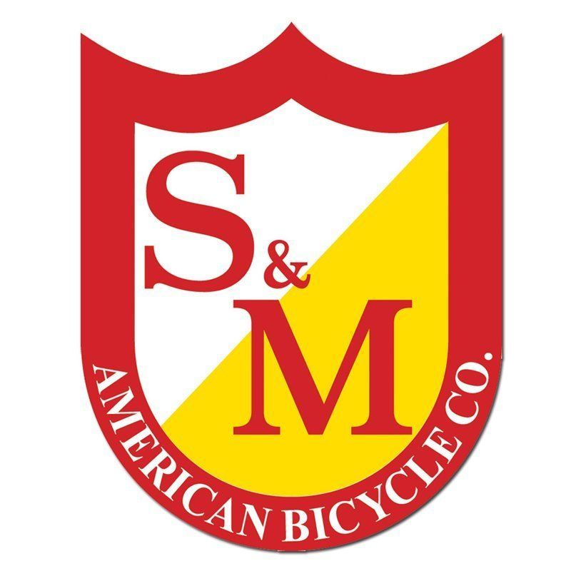 S&M Small Shield Sticker