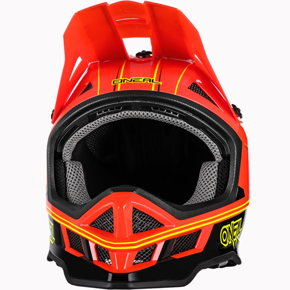 O'Neal Blade Charger Race Helmet - Neon Red