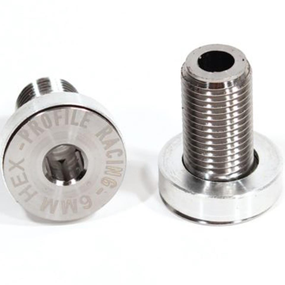 Profile Titanium GDH Flush Mount Crank Spindle Bolts (pair)