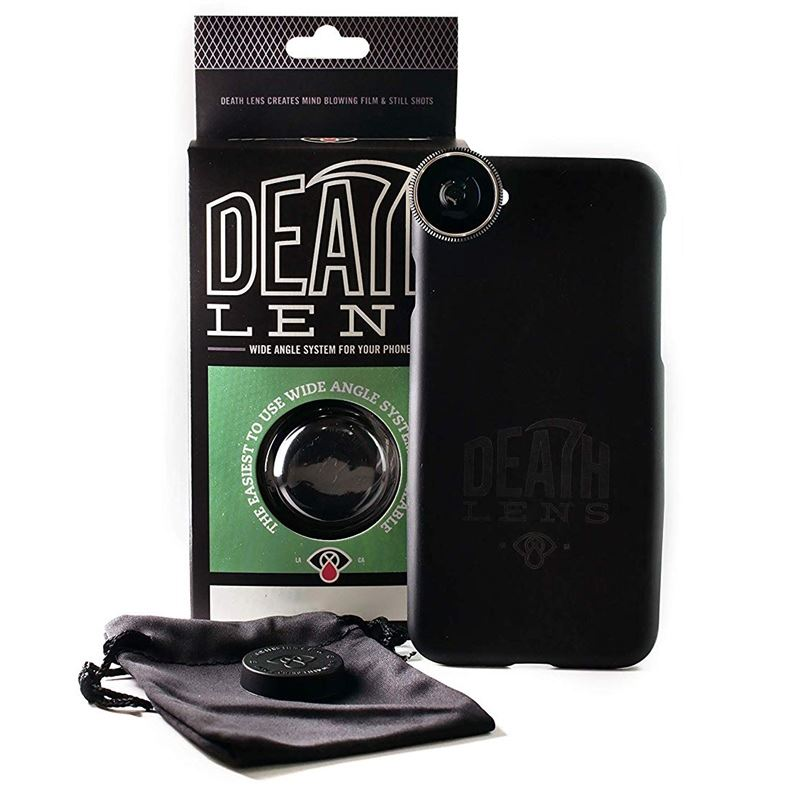 Death Lens iPhone X Wide Angle Lens Case Black | glasses_other_clothes