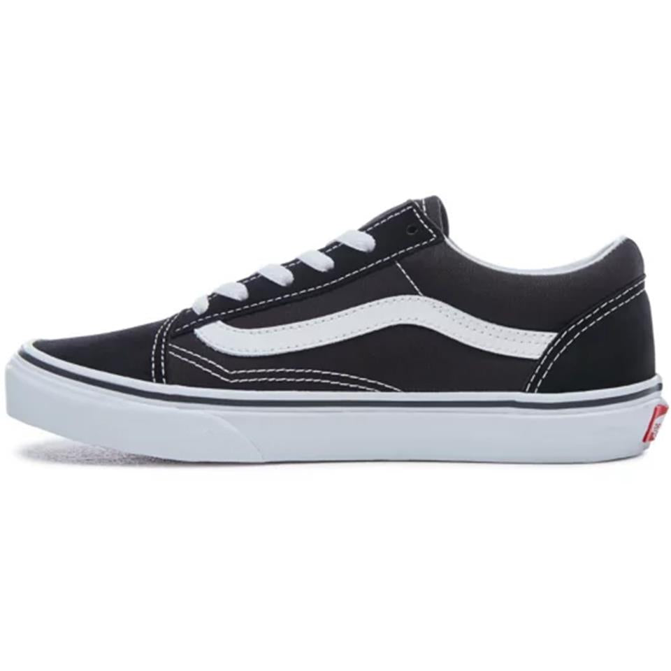 Vans Kids Old Skool Shoes - Black/True White | Sko