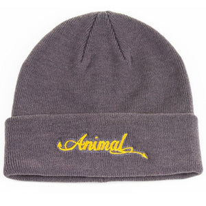 Animal Tails Beanie - Grey