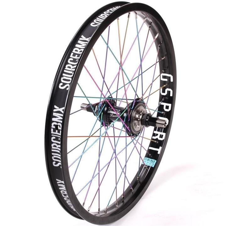 Profile Zcoaster Male / G-Sport Ribcage Custom Rear Wheel - Titanium Upgrade | Rear wheel