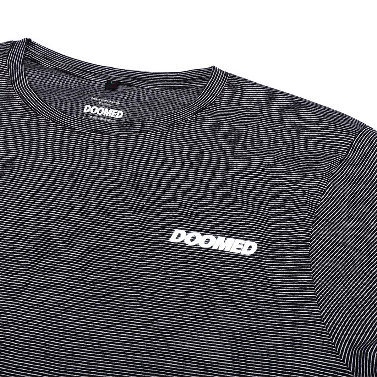 Doomed Zonal T-Shirt - White/Black