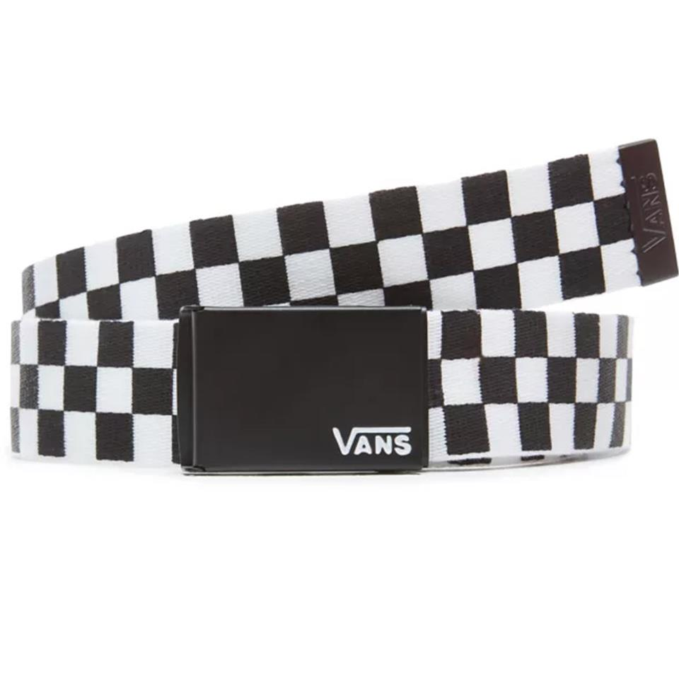 Vans Deppster Web Belt - Black/White Checkerboard