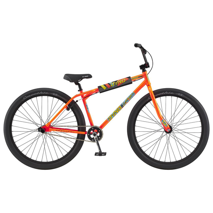 A good looking orange BMX bike for girls by GT