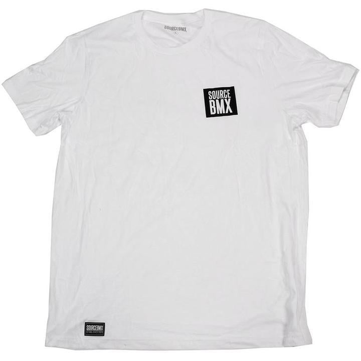 Source Block Premium Tee - White | Trøjer