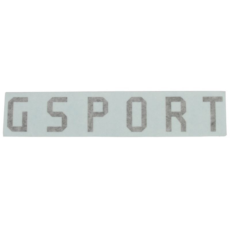 G-Sport Die Cut Rim Sticker | Rims