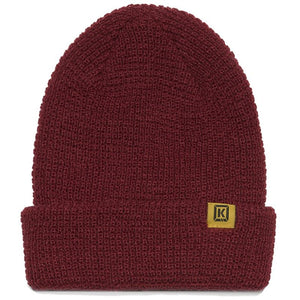 Kink Subtle Beanie - Oxblood Oxblood Red