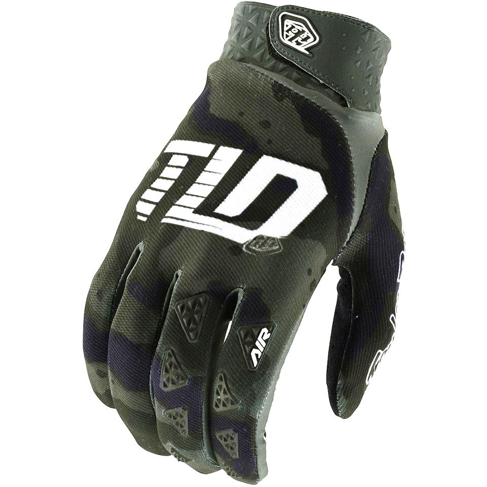 Troy Lee Air Race Glove - Green Camo