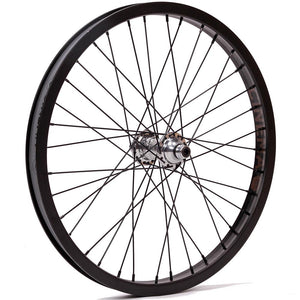 Profile Mini Cinema 777 Front Wheel - Black/Polished