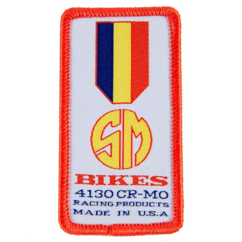 S&M Gold Medal Moto Patch