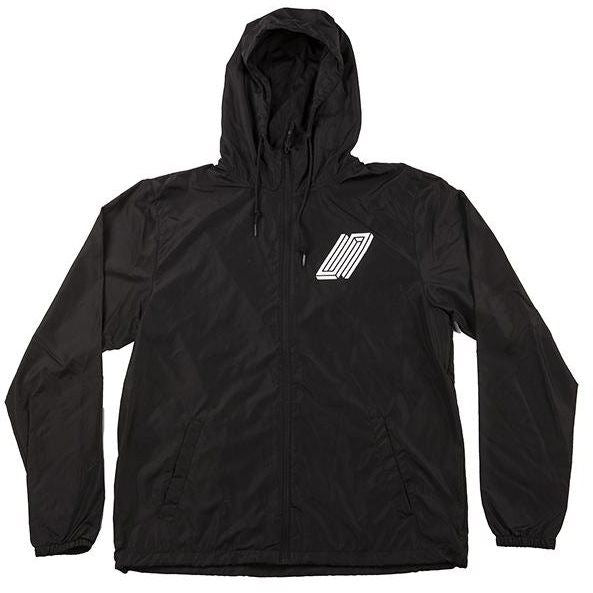 United Reborn Lightweight Windbreaker Jacket - Black