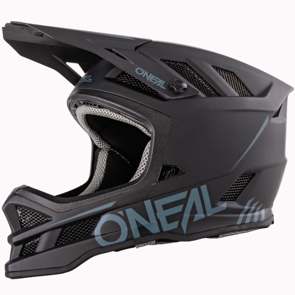 O'Neal Blade Polyacrylite Race Helmet - Solid Black