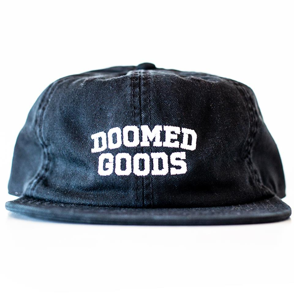 Doomed Goods 6 Panel - Black