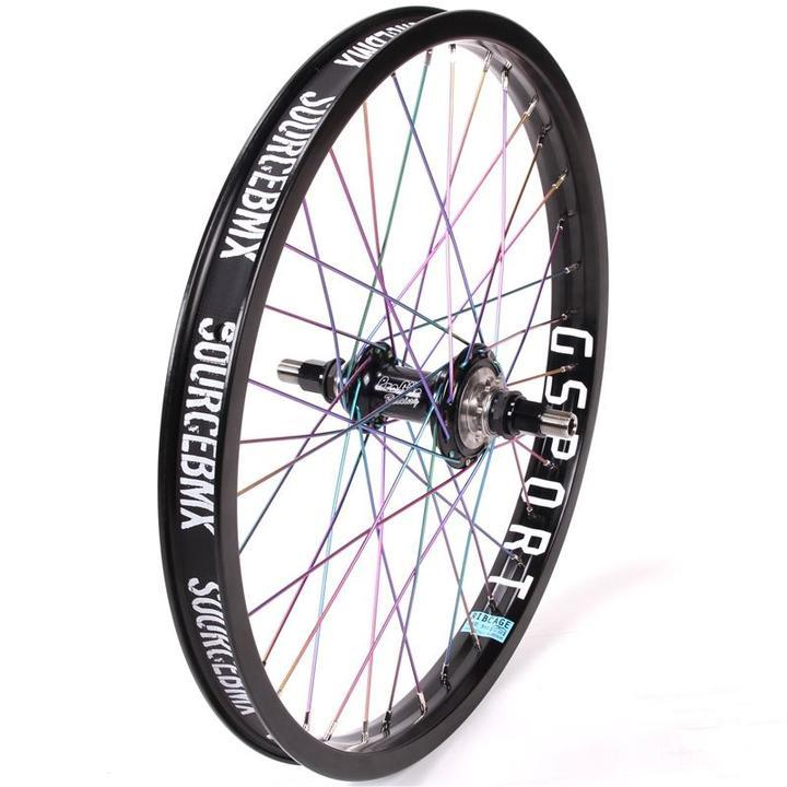 Profile Elite Male / G-Sport Ribcage Custom Rear Wheel - Titanium Upgrade
