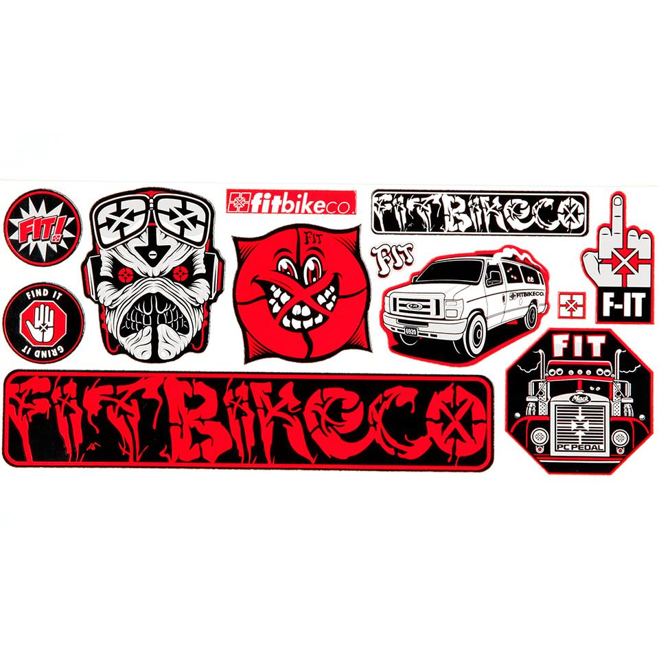 Fit Sticker Sheet