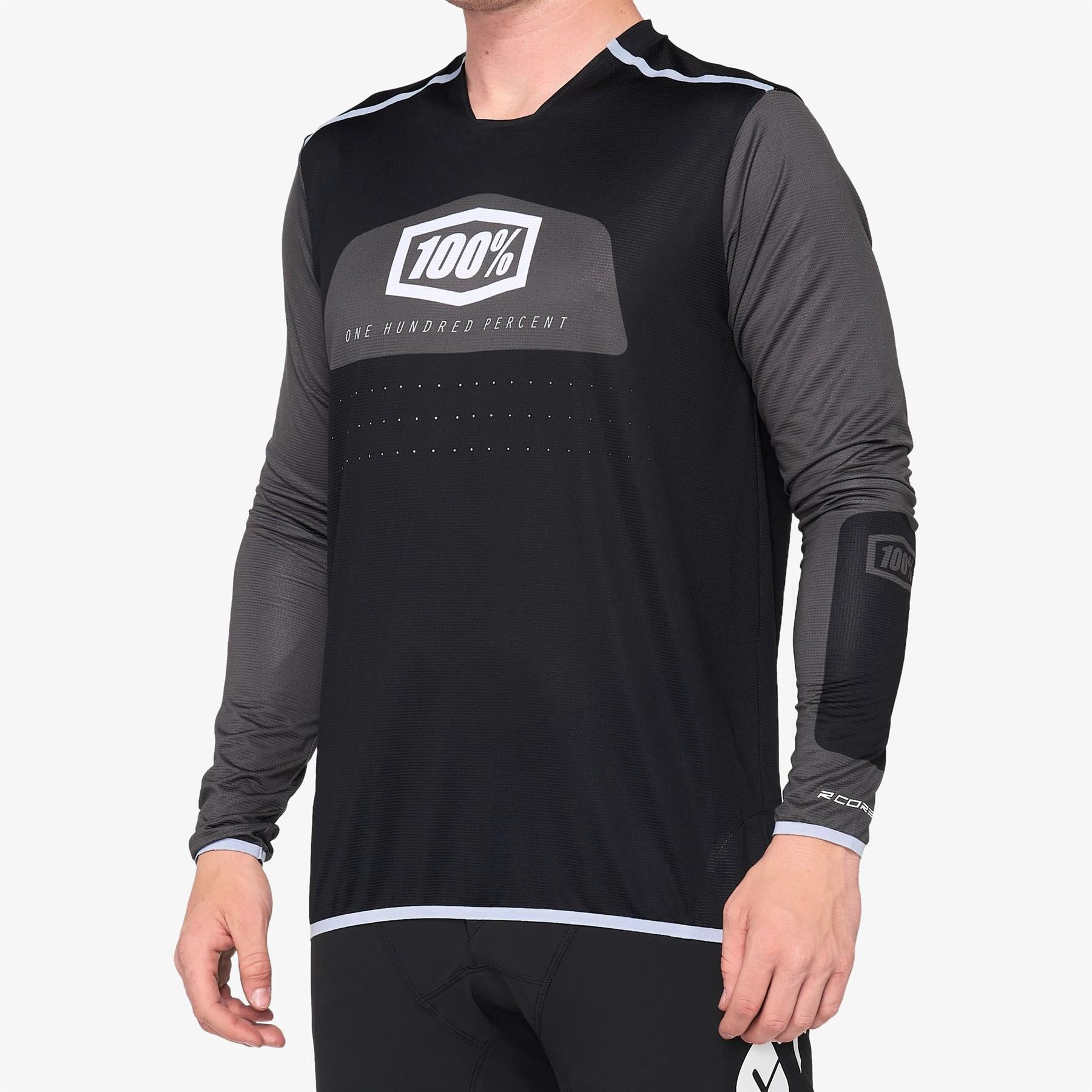 100% R-Core X Race Jersey - Black