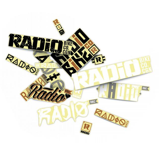 Radio Assorted Sticker Pack