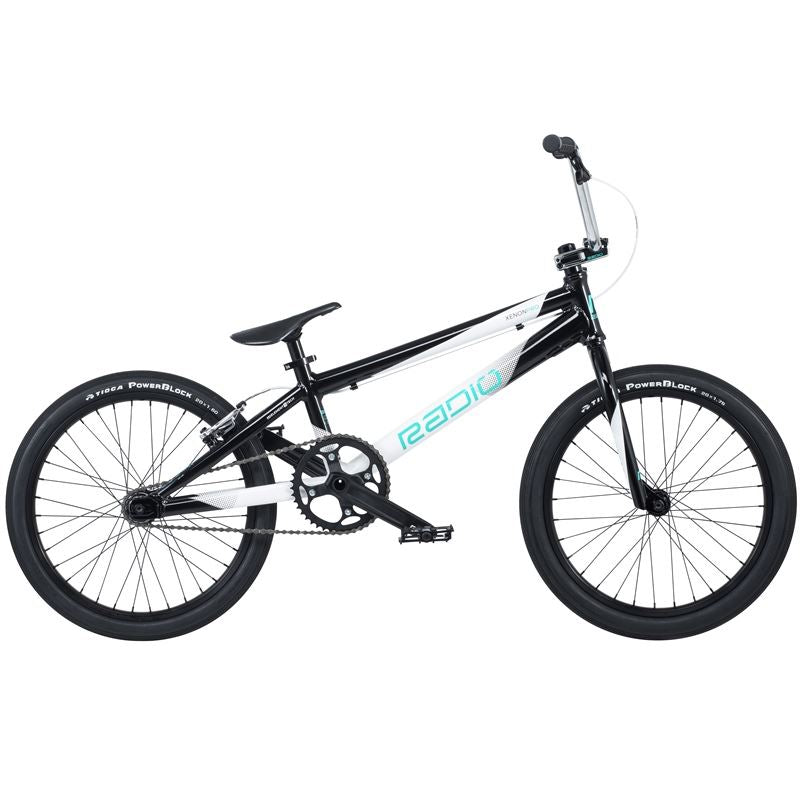 Radio Xenon Pro BMX Bike 2019 Black / White | BMX