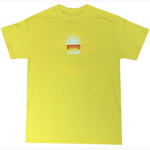 Lovenskate Lust 4 Curbs T-Shirt - Yellow