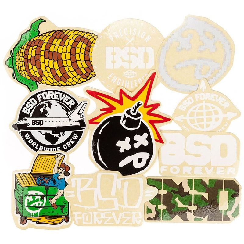BSD Assorted 2019 Sticker Pack